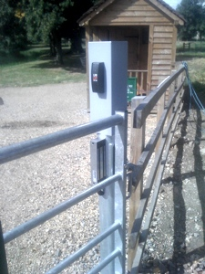 Syon Gate Access Control System with bar-code reader